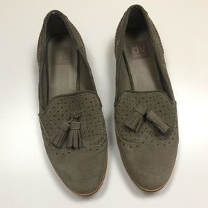 DOLCE VITA | Taupe Suede Leather Tassel Loafers